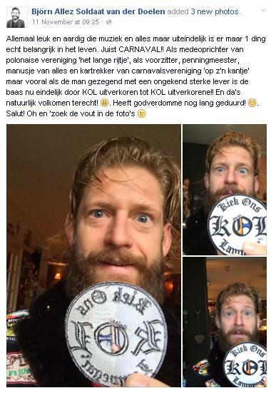 Bjorn van der Doelen - Status