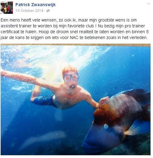 Patrick Zwaanswijk - Status
